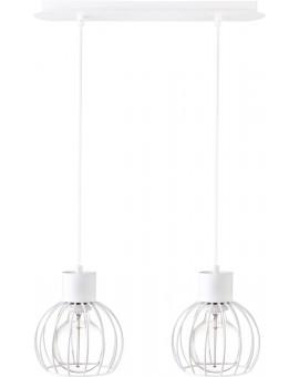 Lampa Zwis Luto koło 2 biały mat 31166 Sigma
