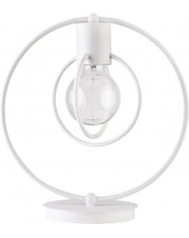 Lampa biurkowa Aura koło biały mat 50081 Sigma