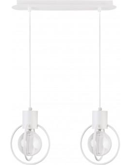 Lampa Zwis Aura koło 2 biały mat 31100 Sigma