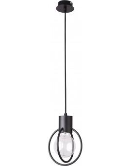 Lampa Zwis Aura koło 1 czarny mat 31088 Sigma