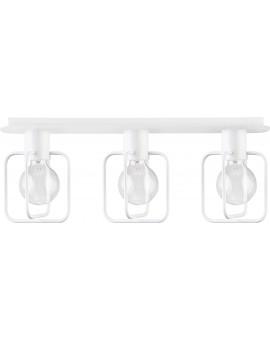 Lampa Plafon Aura kwadrat 3 biały połysk 31126 Sigma