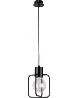 Lampa Zwis Aura kwadrat 1 czarny połysk 31110 Sigma