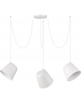 Lampa Zwis podwieszany Jawa 3 biały 31384 Sigma
