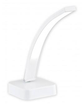 Lampa stołowa Linea LED biały/chrom O2518 L1 BIA Lemir
