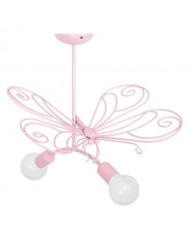 Plafon dziecięcy Motyl różowy 3932 Decoland