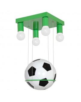 Plafon dziecięcy Football zielony 4 5346 Decoland
