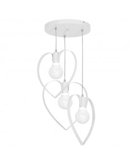 Kids room chandelier Childrens Girls Bedroom lighting Amore white 9951