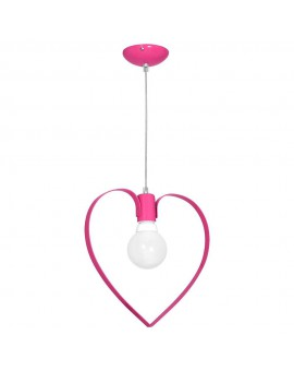 Kids room chandelier Childrens Girls Bedroom lighting Amore dark pink 9956