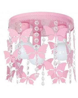 Plafon dziecięcy Elza motyl różowy 3 9791 Decoland