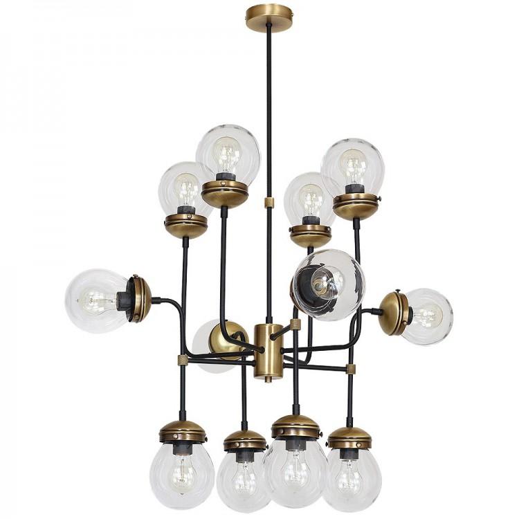 Lampa Żyrandol retro hydro 1890 Luminex