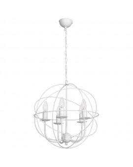 Lampa Żyrandol Globe biały 5132 Luminex