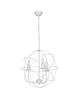 Lampa Żyrandol Globe biały 5131 Luminex