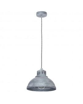 Lampa Żyrandol industrialny Sven betonowy szary 9048 Luminex