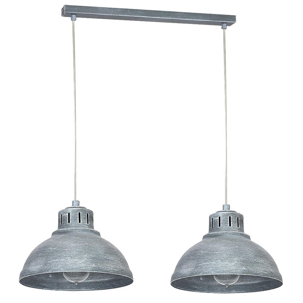 Lampa żyrandol Industrialny Sven Betonowy Szary 9049