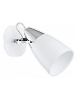 Kinkiet Estra biały/chrom O2550 K1 BIA Lemir