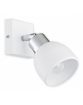 Kinkiet Feniks biały matowy/chrom O2590 K1 BIA Lemir