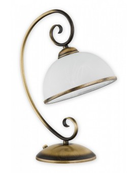 Lampa biurkowa Indra patyna O2498 L1 PAT Lemir