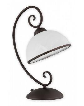Lampa biurkowa Indra rdza wenge O2498 L1 RW Lemir