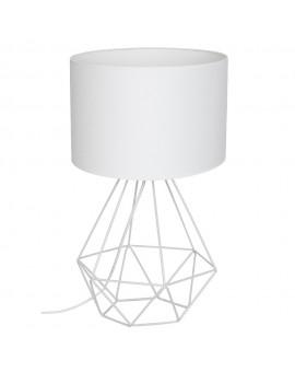 Lampka nocna druciana Basket biały 1 7193 Decoland