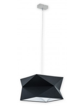 Lampa Zwis Espero O2771 W1 czarny abażur Lemir
