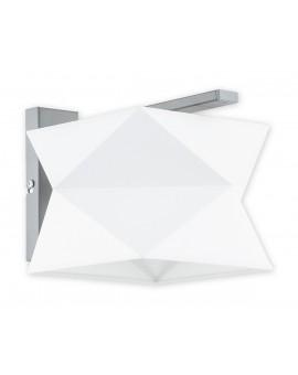 Kinkiet Espero O2770 K1 biały abażur Lemir