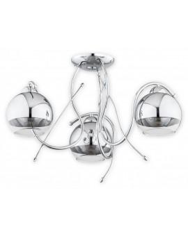 Lampa Żyrandol Trama O2533 W3 CH Lemir