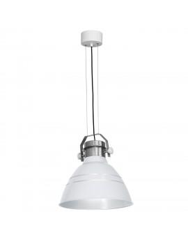 Lampa wisząca Zwis industrialny Edgar biały 1 8898 Luminex