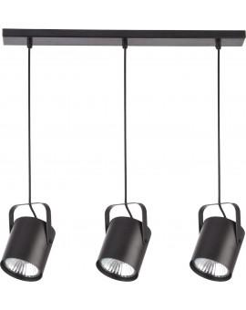 Lampa Zwis Flesz E27 3 czarny E27 31083 Sigma