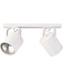 Lampa Plafon Flesz E27 2 biały E27 31106 Sigma