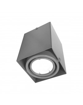 LAMPA SUFITOWA BLOCCO SZARY 1x7W GU10 LED ML835 Milagro