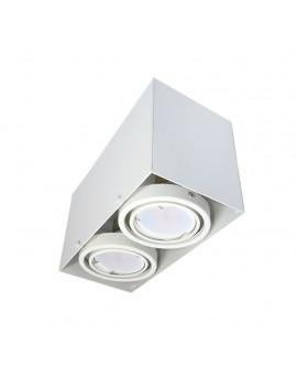 LAMPA SUFITOWA BLOCCO BIAŁA 2x7W GU10 LED ML478 Milagro