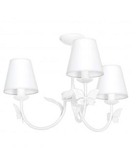 Lampa Sufitowa ALICE WHITE 3xE14 MLP960 Milagro