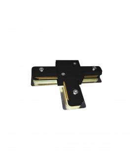 Łącznik Lampy TRACK LIGHT Black Typ T ML3921 Milagro