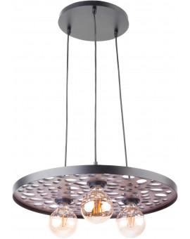 LAMPA ZWIS RETRO MAGNUM STONE KOŁO CZARNY 31728 SIGMA