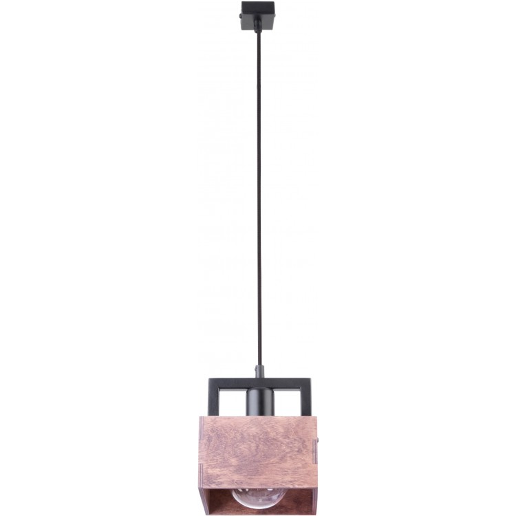 LAMPA ZWIS DAKOTA 1 DREWNO/METAL 31750 SIGMA