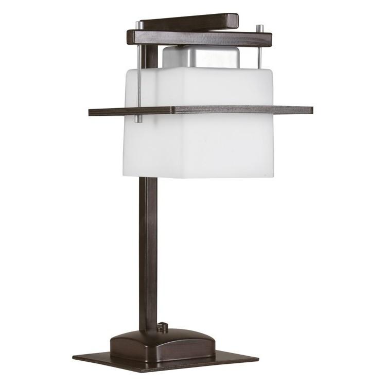 Lampa biurkowa nowoczesna DELTA WENGE 1Pł Sigma 10710