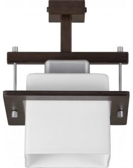 Plafon nowoczesny DELTA WENGE 1Pł Sigma 10708