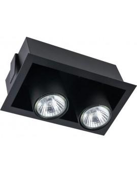 LAMPA STROPOWA PODTYNKOWA EYE MOD BLACK 8940 NOWODVORSKI
