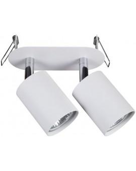 LAMPA SUFITOWA PODTYNKOWA EYE FIT WHITE II 9395 NOWODVORSKI