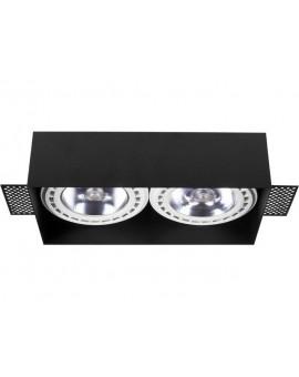 LAMPA SUFITOWA PODTYNKOWA MOD PLUS BLACK II 9403 NOWODVORSKI