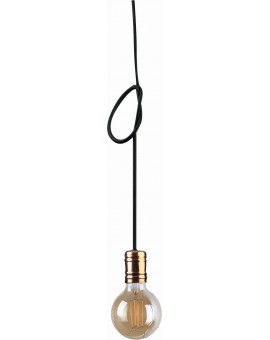 LAMPA ZWIS LOFTOWY CABLE BLACK/COPPER I 9747 NOWODVORSKI