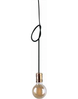 LAMPA ZWIS LOFTOWY CABLE BLACK/COPPER I 9747 NOWODVORSKI