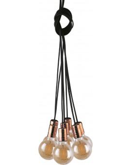 LAMPA ZWIS LOFTOWY CABLE BLACK/COPPER VII 9746 NOWODVORSKI