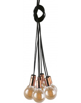 LAMPA ZWIS LOFTOWY CABLE BLACK/COPPER VII 9746 NOWODVORSKI