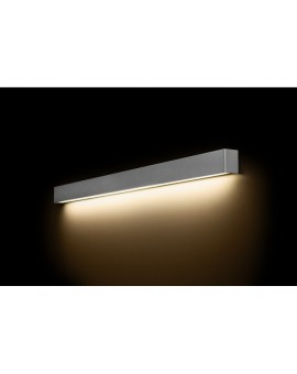 KINKIET STRAIGHT WALL LED SILVER L 9615 NOWODVORSKI