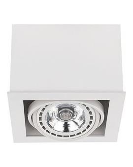 LAMPA STROPOWA BOX WHITE I ES 111 9497 NOWODVORSKI