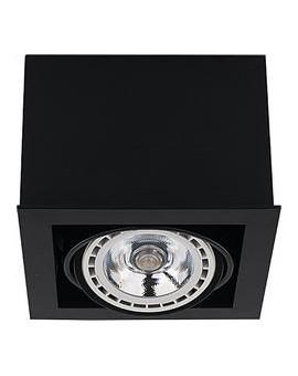 LAMPA STROPOWA BOX BLACK I ES 111 9495 NOWODVORSKI