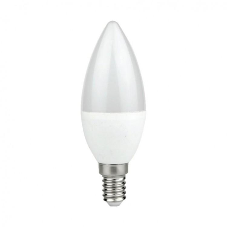 ŻARÓWKA LED 7W E14 C37 Świeczka BBARWA NEUTRALNA EKZA572 MILAGRO