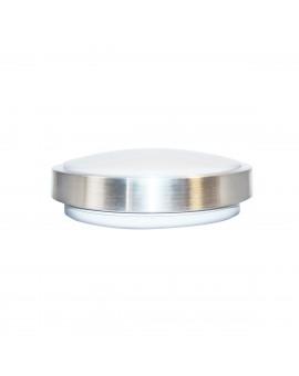 PLAFON LED CZUJNIK RUCHU 18W 4000K SREBRNY IP65 PIR EKP1701 MILAGRO