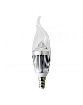 Żarówka LED 4W E14. Barwa: Zimna